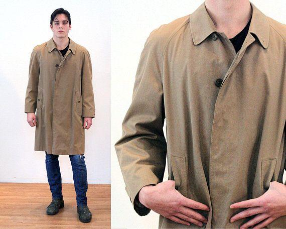 928958ffba83b 80s Burberry Raincoat L