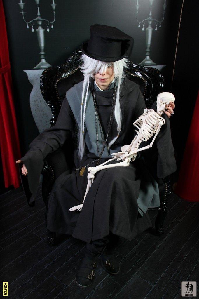 Black Butler Undertaker Coslay