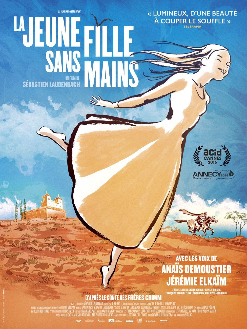 La Jeune fille sans mains - L'acid - Association du Cinéma Indépendant pour sa Diffusion