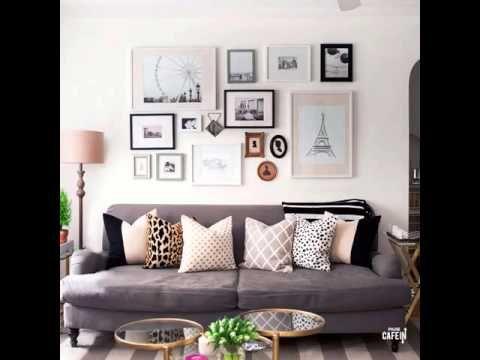 voici 3 id es d co pour accrocher ses cadres de fa on harmonieuse d coration design. Black Bedroom Furniture Sets. Home Design Ideas