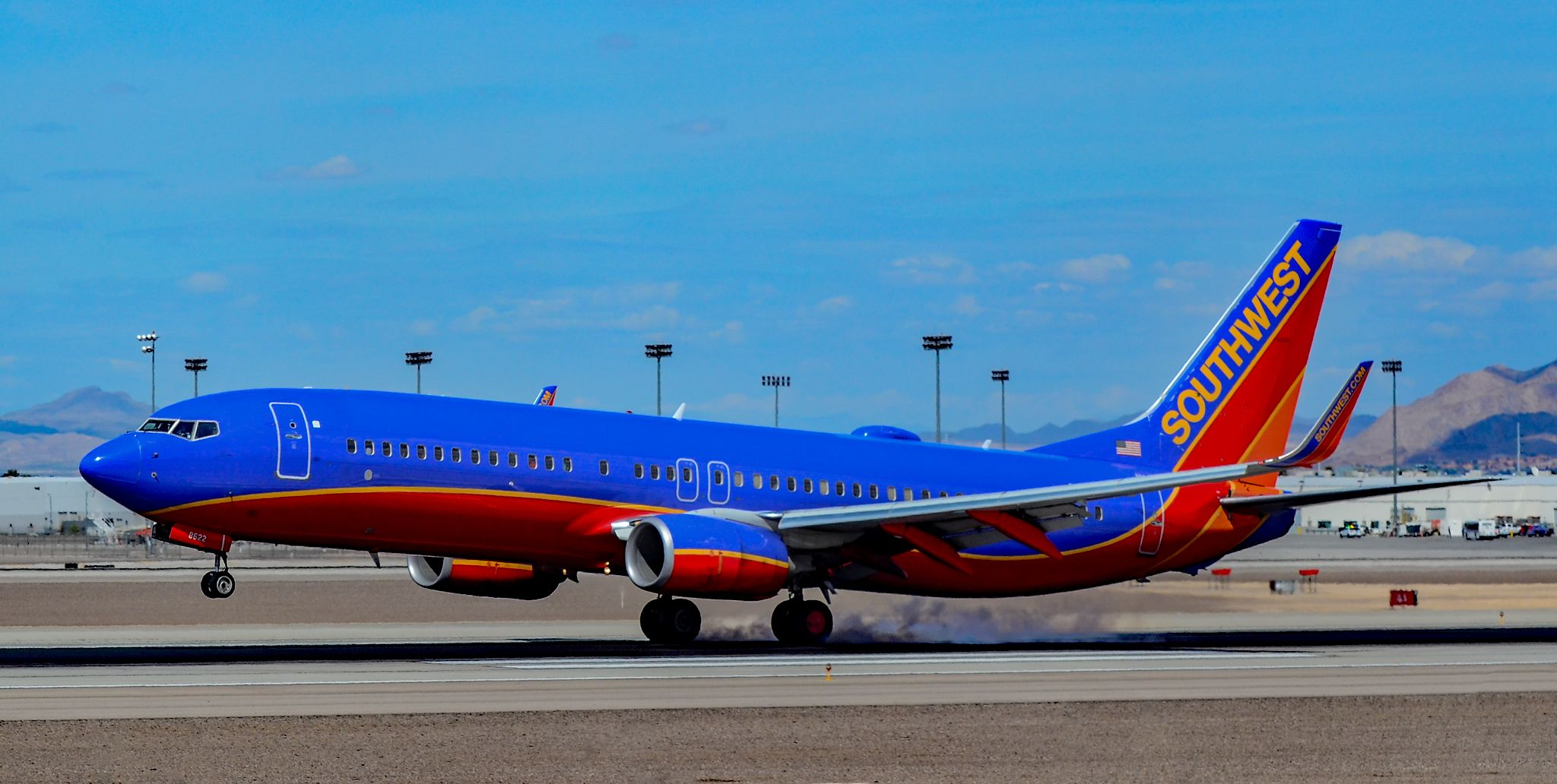 N8622A Southwest Airlines Boeing 7378H4 s/n 36919
