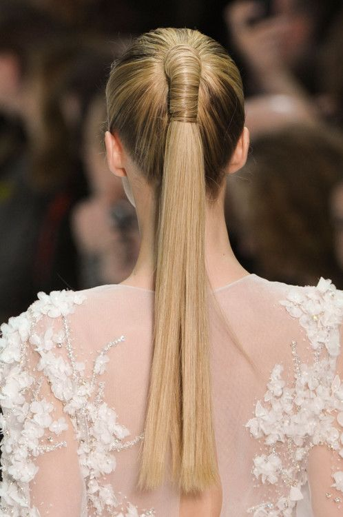 """true """"pony"""" tail... cool wrap for special event?"""