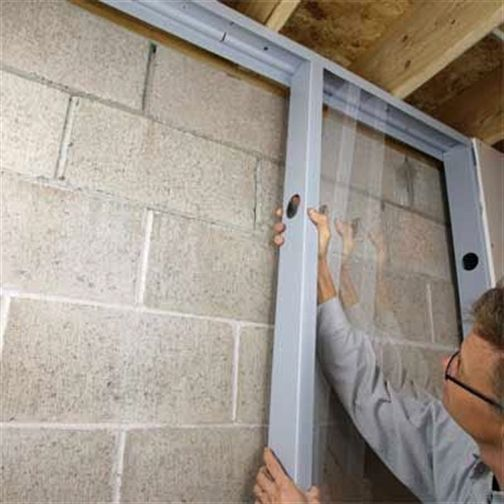Thisoldhouse Com Snap Together Pvc Studs For Basement