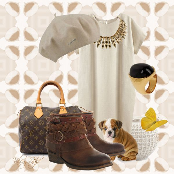 """soft casual"" by mystyle-valery on Polyvore"