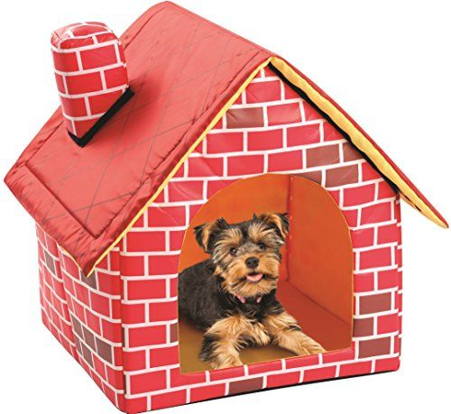 Soft Sided Brick Pet House Mat Dog House Bed Cool Dog Beds