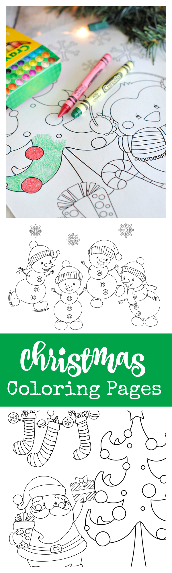 Free printable christmas coloring pages nd grade pinterest