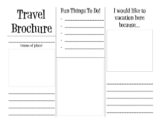 Travel Brochure Travel Brochure Template Travel Brochure And - Teacher brochure template