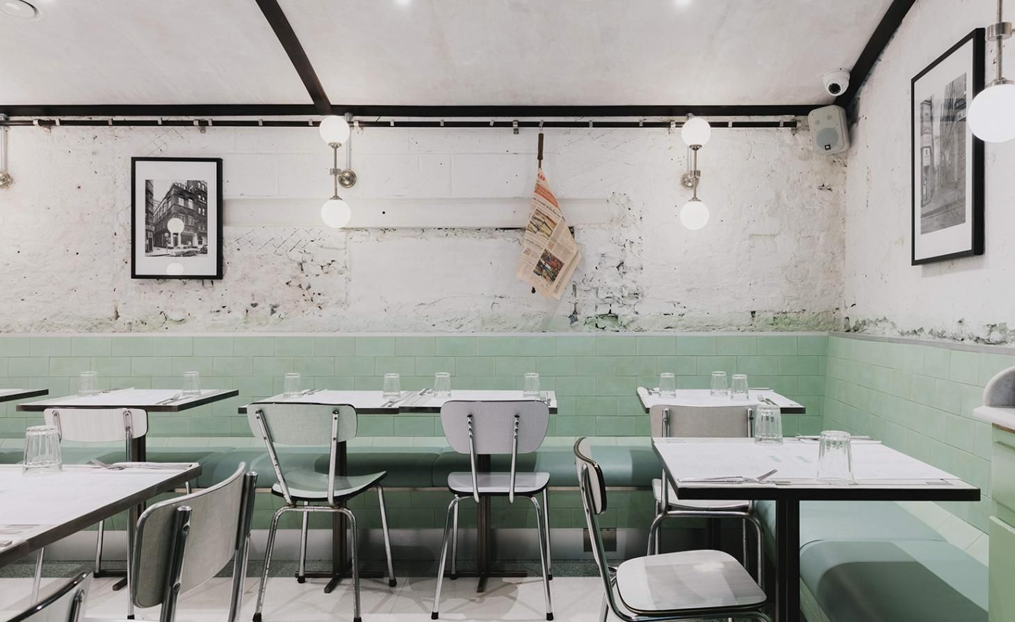 Lina Stores — London, UK Restaurant concept, Interior