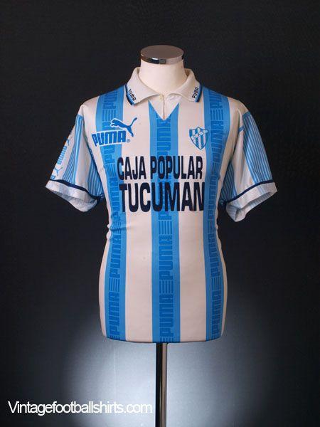 9291dae7d 1995-96 Atletico Tucuman Home Shirt M £39.99