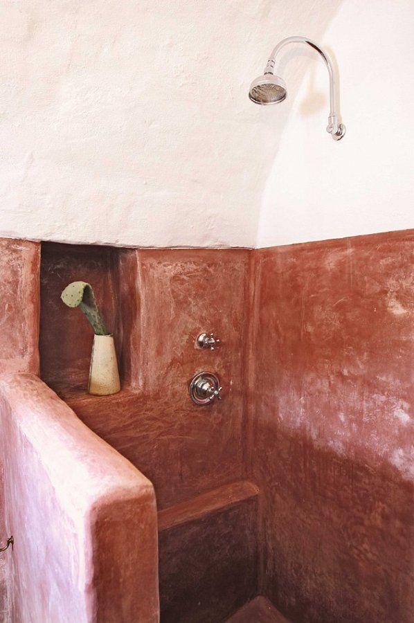 Trullo Dei Mandorli Dusche Toskana Design Apulien Dusche