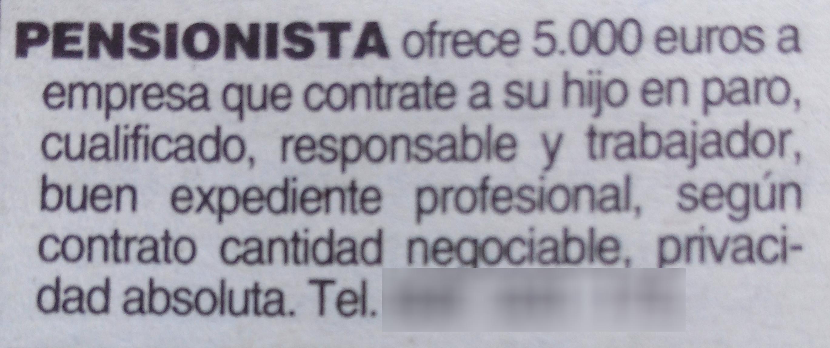 La semana pasada apareció este anuncio en los clasificados de Heraldo de Aragón, ¿qué os parece? #desempleo #empleo vía Elena Ariño @earinolecina  #RRHH #Empleo #Trabajo #OrientacionLaboral #Empresa #RecursosHumanos #Orientacion #OrientacionProfresional