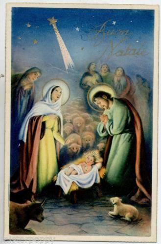Immagini Di Gesu Bambino Natale.Adorazione Di Gesu Bambino Pecore Cometa Natale Jesus Xmas
