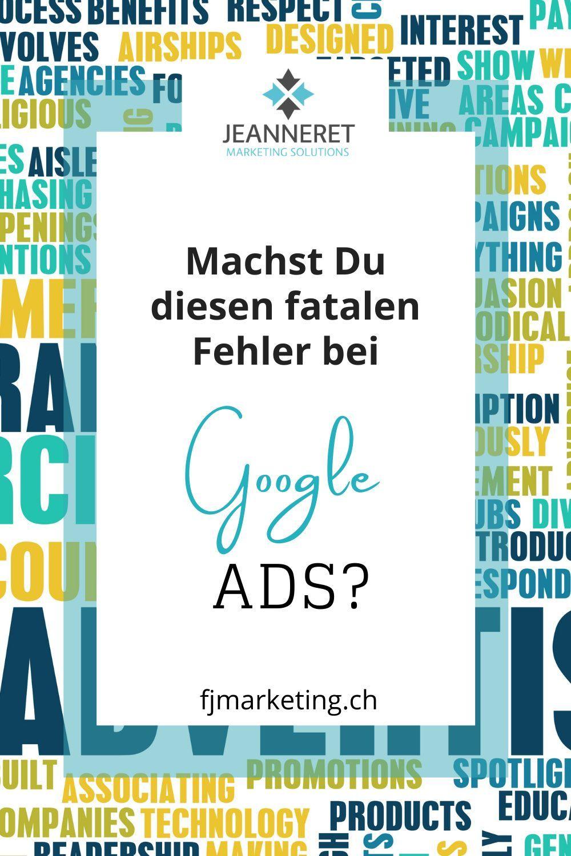 Google Ads – Umsätze steigern, Klickkosten senken   FJ Marketing ...