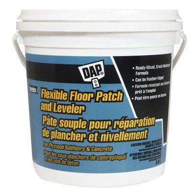 Dap 3 8l Flexible Floor Patch And Leveler Lowe S Canada