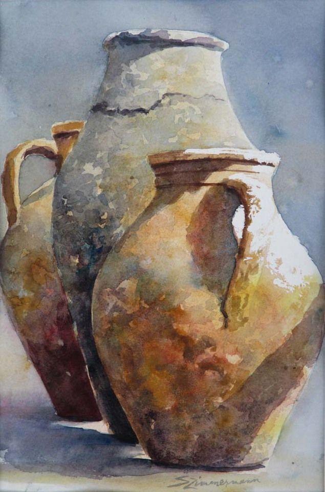 Sue Zimmermann Portfolios Watercolors Pinterest