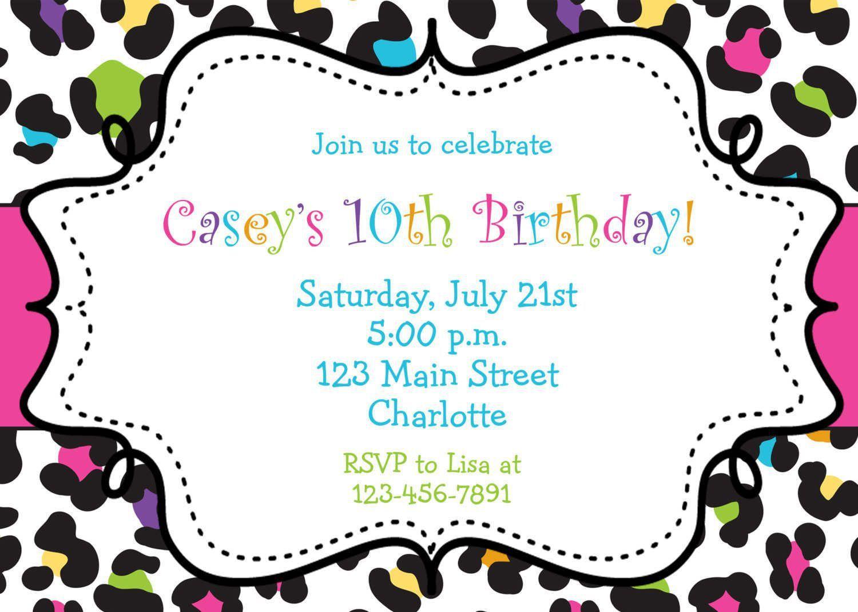Birthday Invitation Birthday Invitation Free Invitation For You Free Inv Party Invite Template Free Printable Party Invitations Free Birthday Invitations