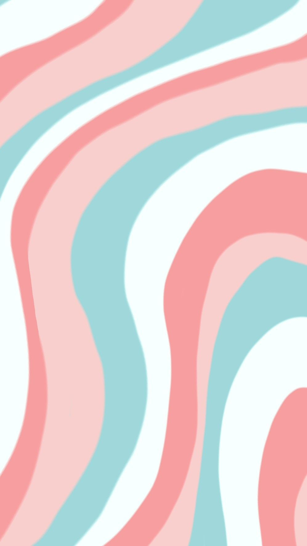 Aesthetic wallpaper color waves collage