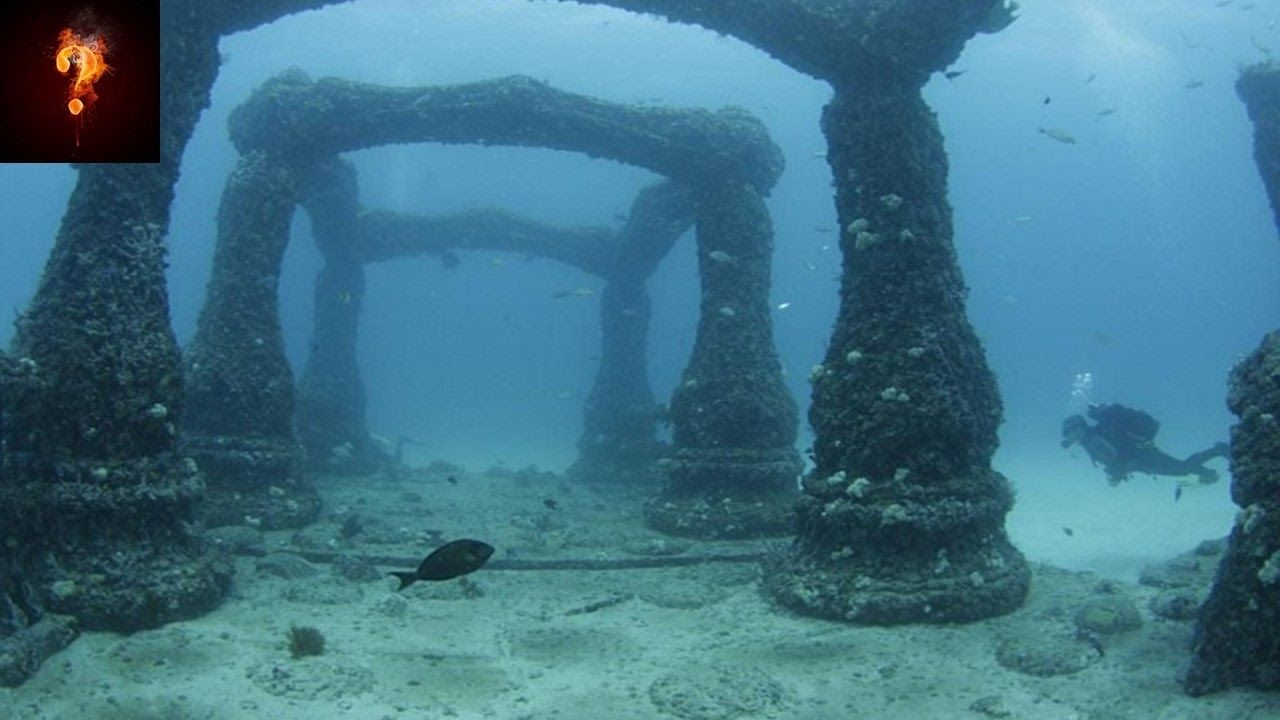Lost City Of Atlantis Found In North Sea Youtube Lost City Of Atlantis Underwater City Underwater Ruins