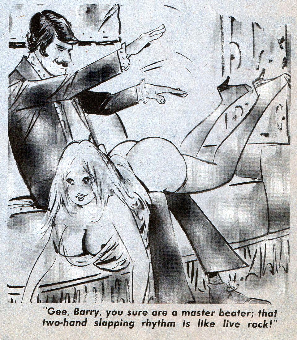 Rock sexy spank