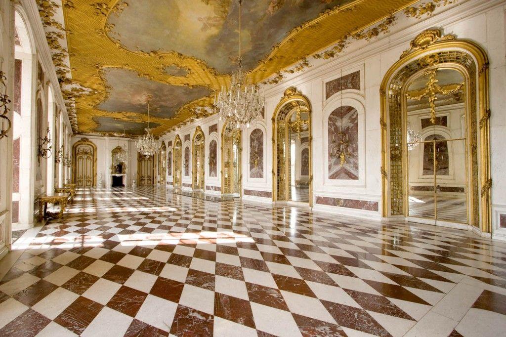 New Palace Marble Gallery C Dzt Stiftung Preussische Schlosser Und Garten Berlin Brandenburg Michael Pasdzior Neues Palais Schlosszimmer Sanssouci