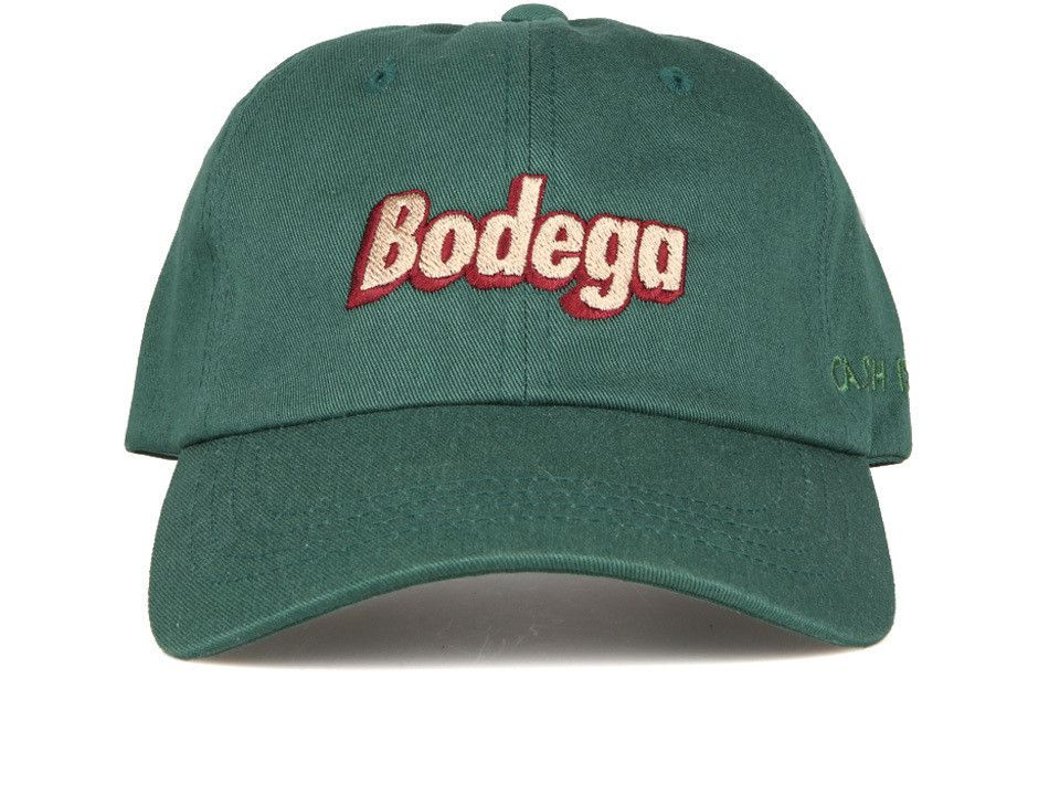 Bodega B Logo Polo Hat Hunter Green Polo Hat Logo Polos Headwear