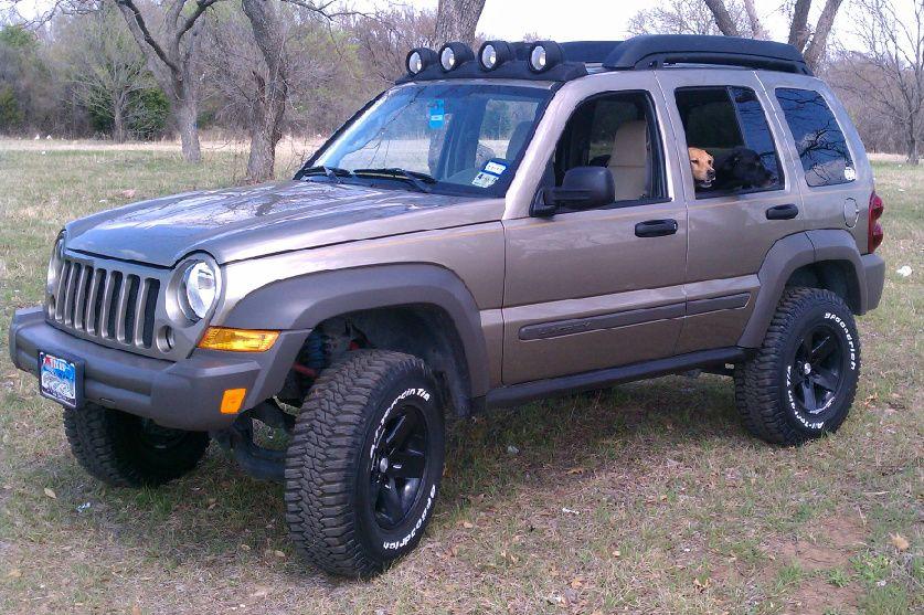 Jeep Liberty Ride Leveling Kits Installed Rear Skyjacker