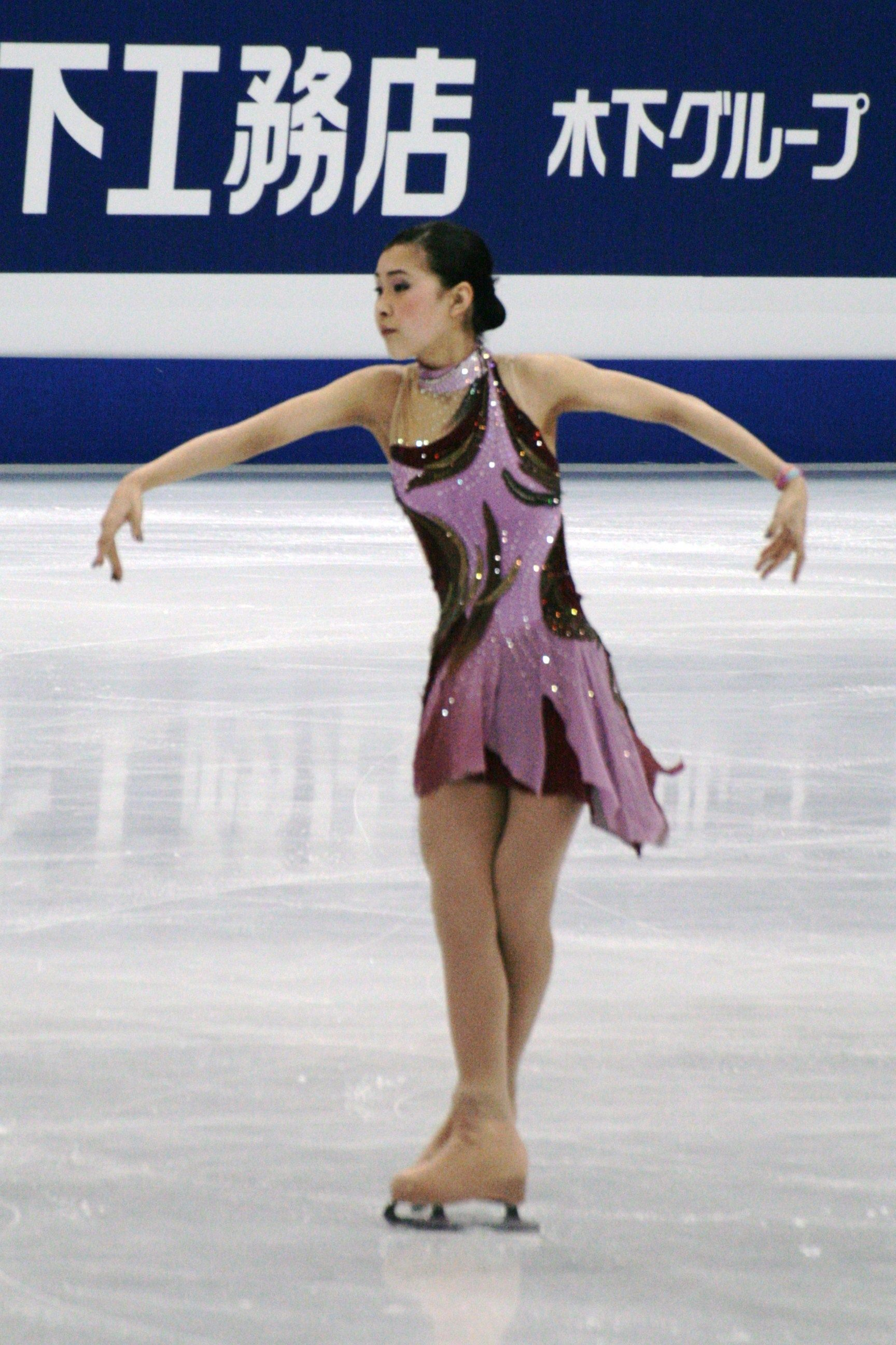 Kanako Murakami -  Purple Figure Skating / Ice Skating dress inspiration for Sk8 Gr8 Designs.