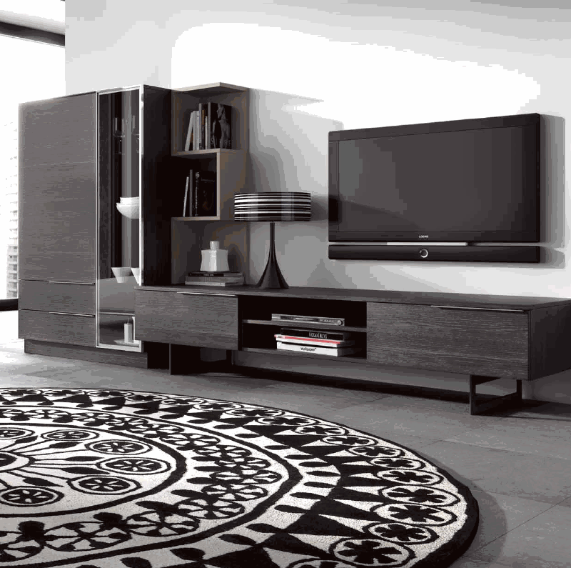 Fotografias de muebles de salon modernos tienda muebles for Muebles modernos para living