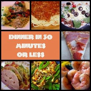30 minute meals supper pinterest meals 30th and 30 min meals 30 minute meals sisterspd