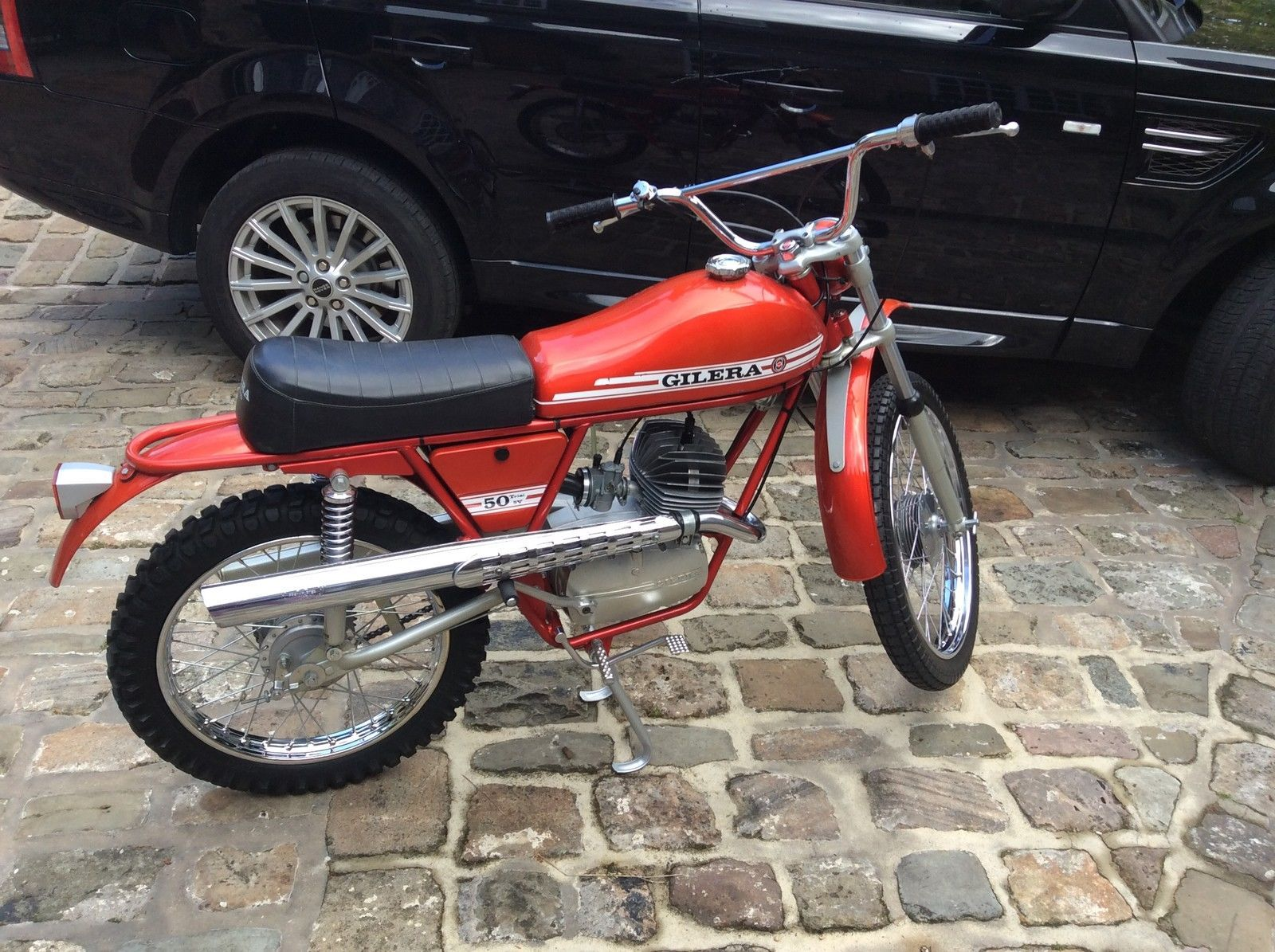 Gilera trials 5v 50cc moped never used totally original fs1e