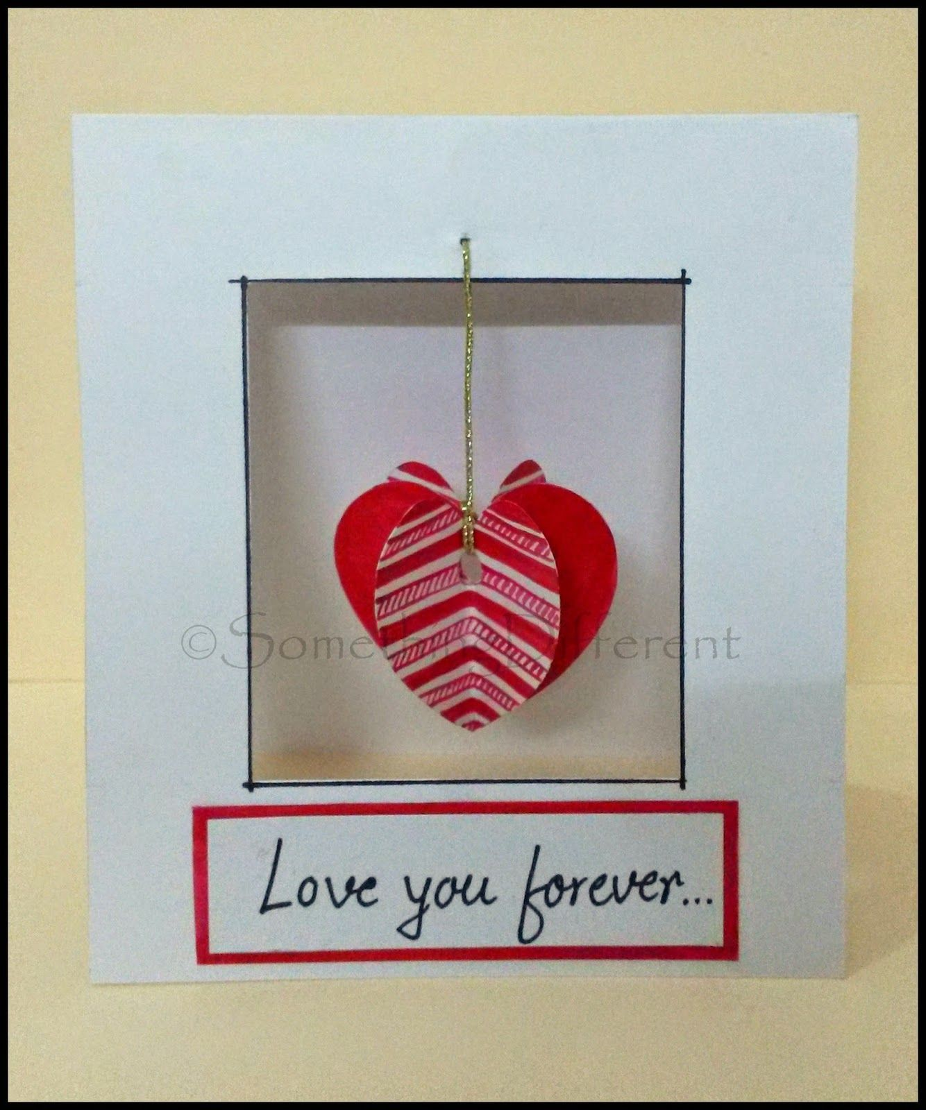 Something different valentines day special beating heart something different valentines day special beating heart greeting card tutorial m4hsunfo
