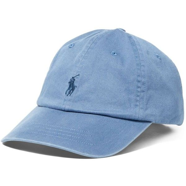 49a3094dd29 Polo Ralph Lauren Core Classic Sport Cap ( 40) ❤ liked on Polyvore featuring  accessories