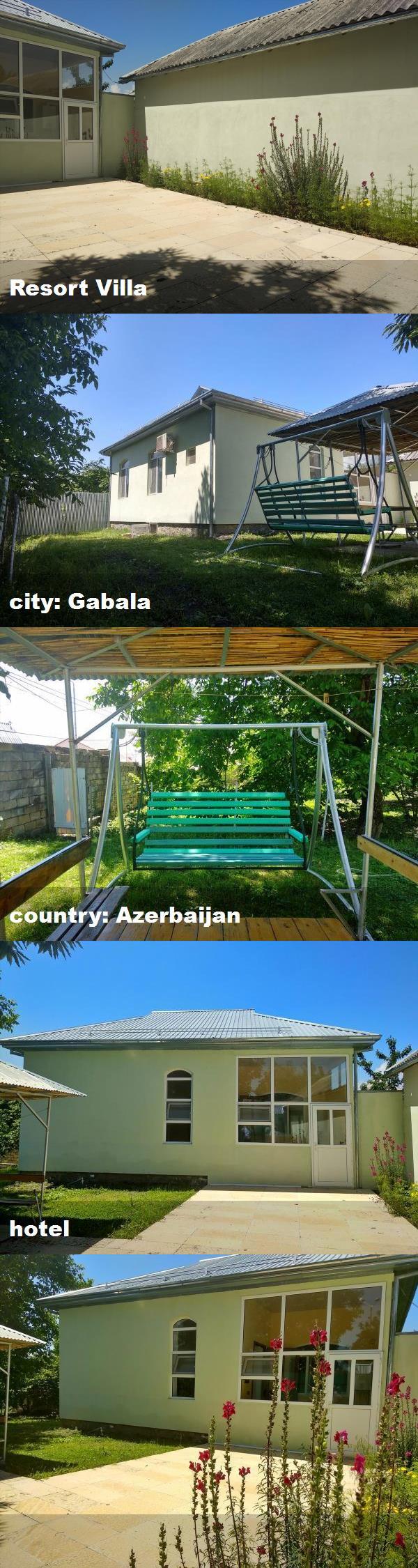 Resort Villa City Gabala Country Azerbaijan Hotel Resort Villa Hotel House Styles