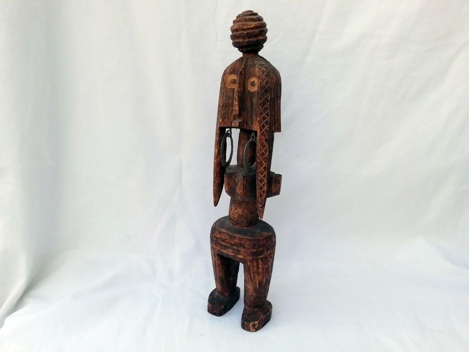 ancienne sculpture poupee africaine
