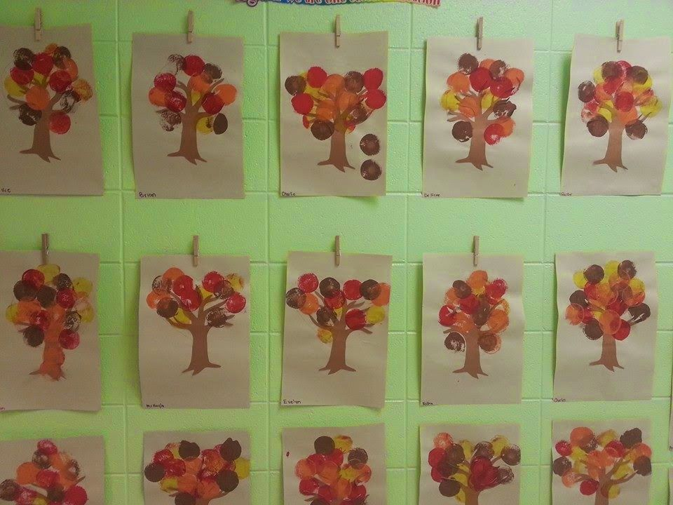 Fall Tree Activity, Paint by numbers, Fall Songs