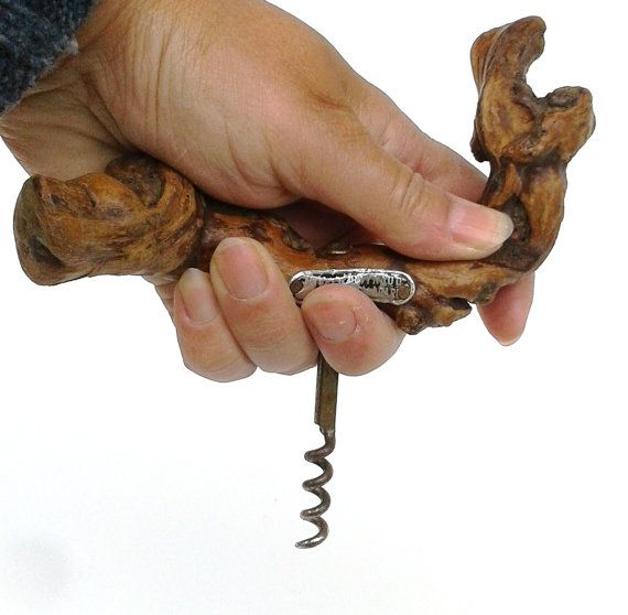 FRENCH Grapevine Corkscrew Large Vintage Wine By FrenchMarketFinds