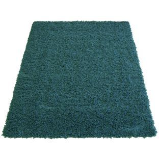 Jazz Shaggy Rug 160x230cm Teal At Argos Co Uk Your