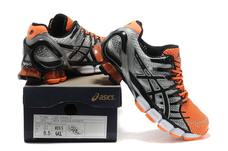 site réputé fbaa8 a4603 asics kinsei 4 orange
