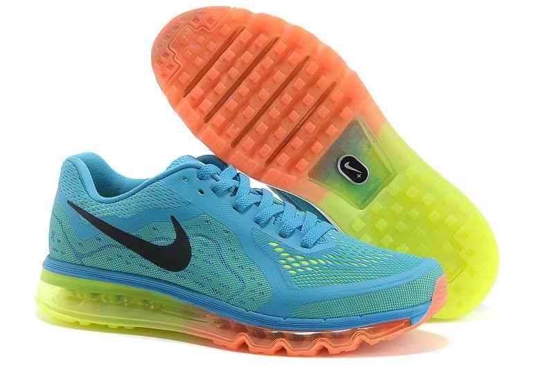 brand new 5e766 4dd02 Discount Nike Air Max 2015 Man Running Shoes - Sky Blue Fluorescent Green  BU567042