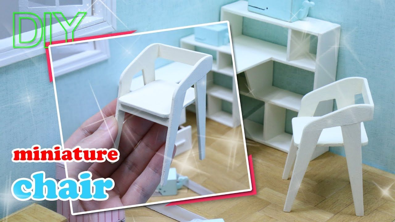how to build miniature furniture. DIY Miniature Chair How To Make Mini - Dollhouse Items Furniture 미. Build N