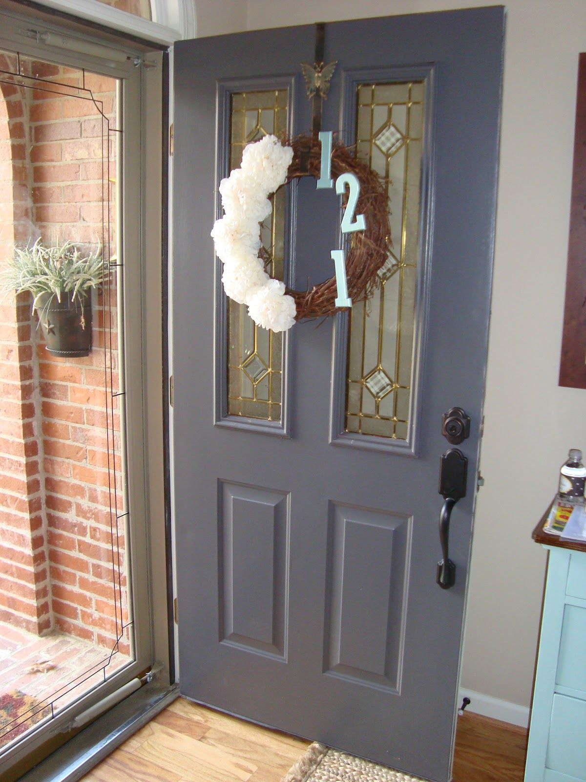Home sweet home front door and rachel 39 s painting tips for Front door rachel zeffira lyrics