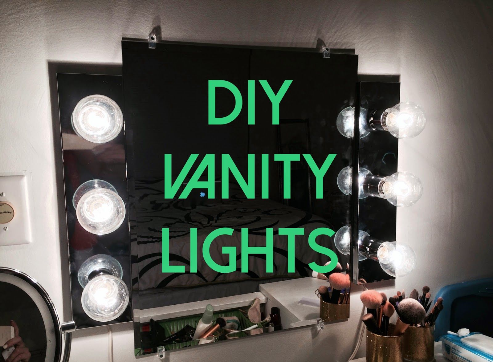 HOW TO INSTALL YOUR OWN VANITY LIGHTS WITH A REMOTE! USING BATHROOM ...