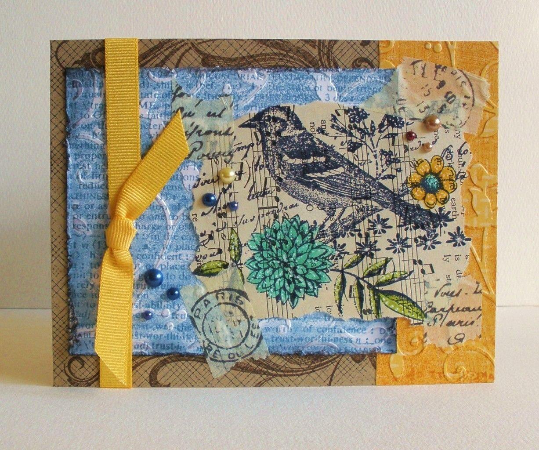 Happy Heart Studio: Bird Collage