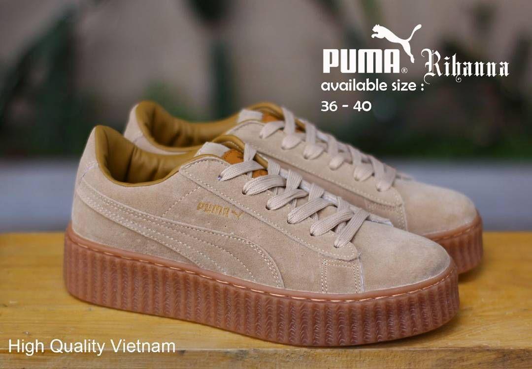 Puma Rihanna Women Brown Sol Gum Size36 40 Harga310 Belum Moofeat Lunnar Tan