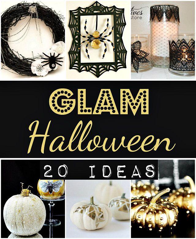 Glam Halloween Decorations Decoration, Halloween ideas and Holidays - classy halloween decor