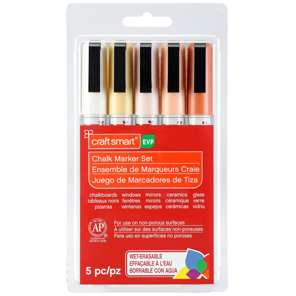 Cottage Chic Chalk Marker Set By Craft Smart Chalk Markers