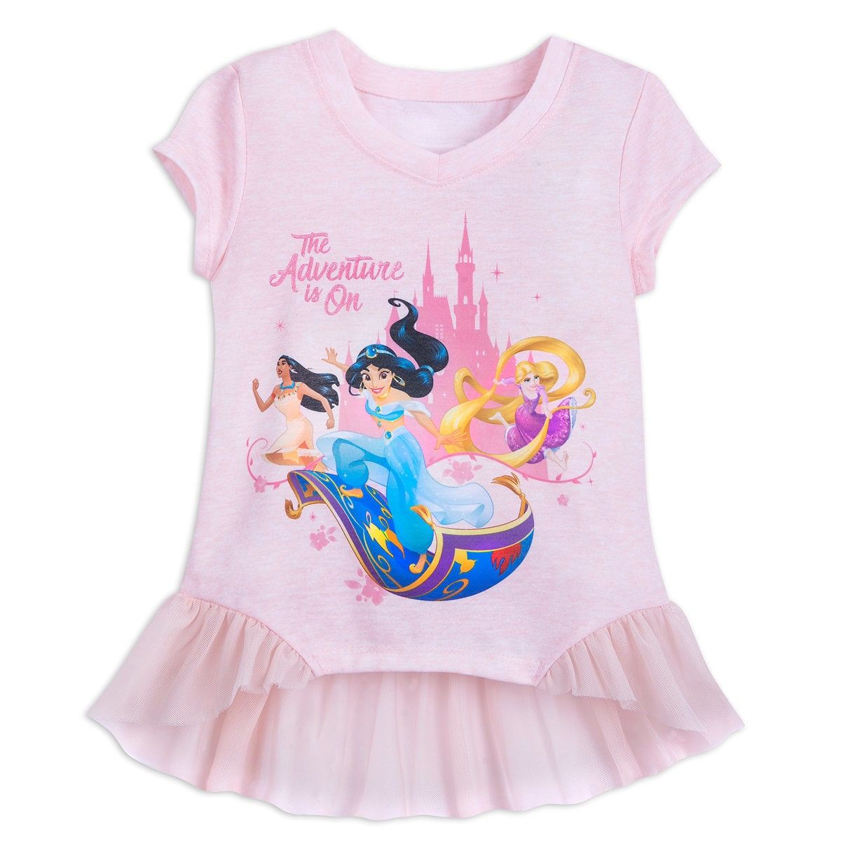 7b348df51d Product Image of Disney Princess Top for Girls - Disneyland - Pink # 1