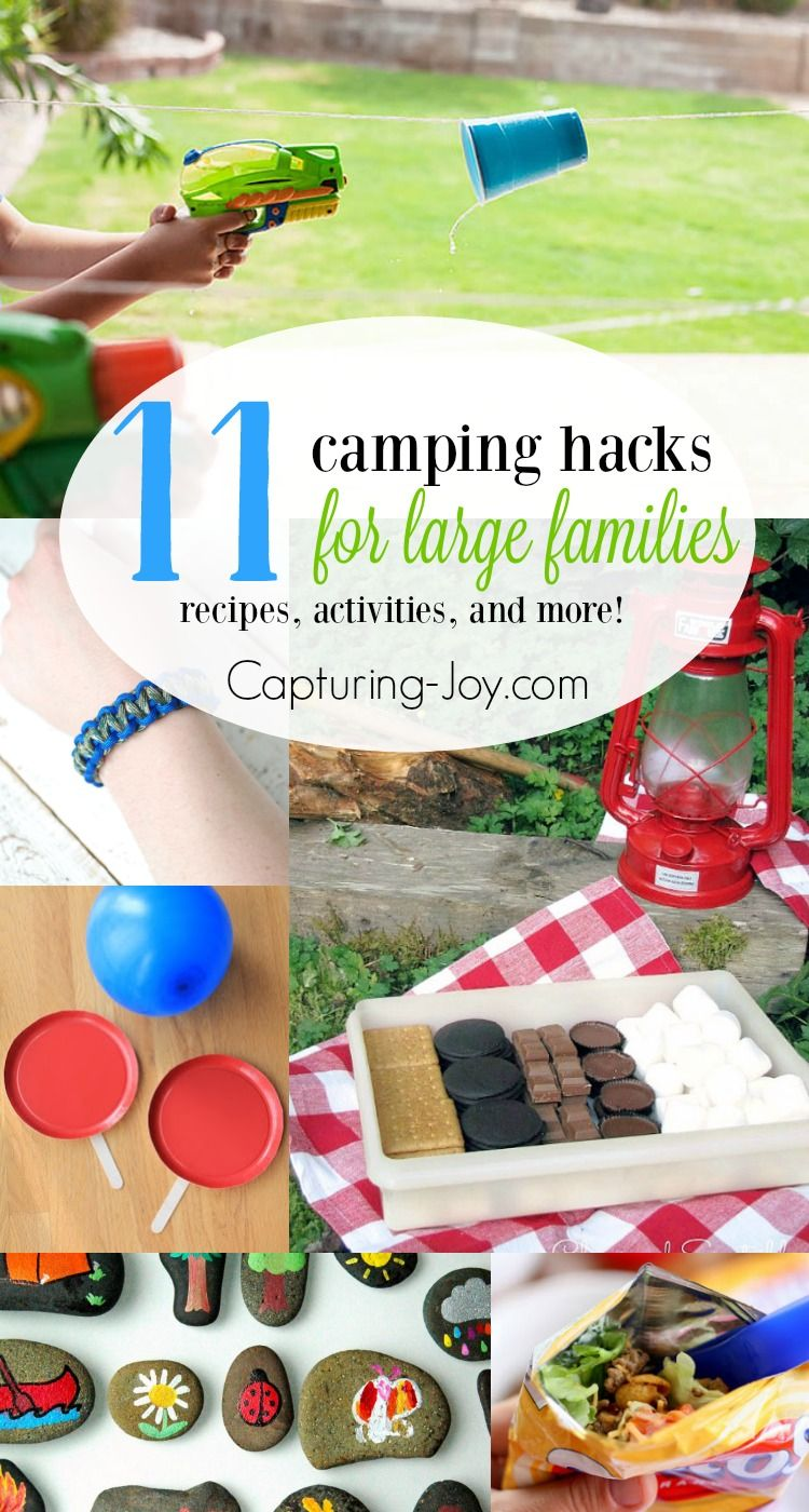 Photo of 11 Camping Hacks for Large Families