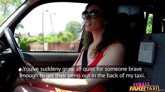 Femalefaketaxi Ava Austen Cabbie In Red Dress Fucks Her Fare