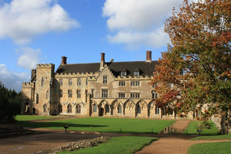 Battle Abbey Near Hastings Is Built On The Site Of The Famous